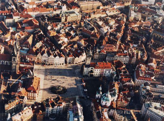 Vyhlídkový let nad Prahou (3os., 40min.)