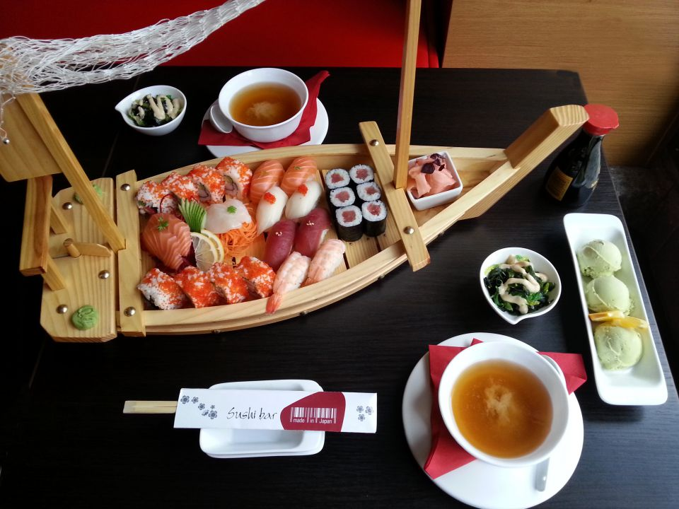 Sushi bar Made in Japan - degustační menu pro dva