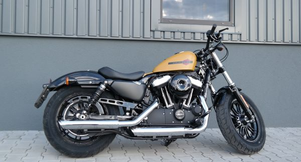 Jízda na motorce Harley Davidson Forty-Eight