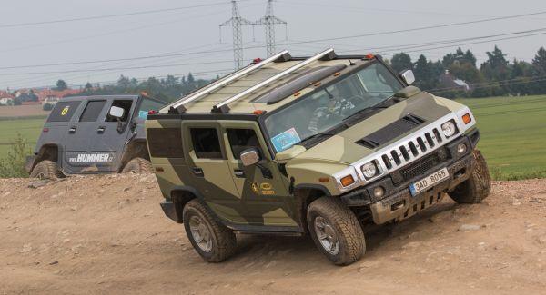 Hummer jízdy
