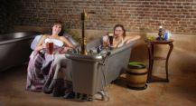 Luxusní pivní lázně pro dva