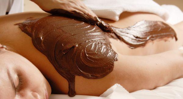Čokoládová masáž