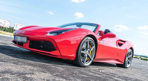 Jízda ve Ferrari - 5 kol