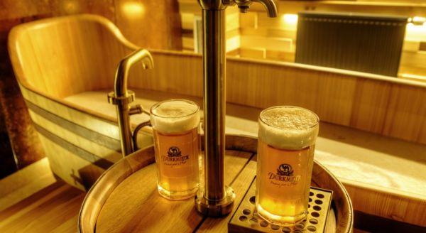 Pivní lázně Plzeň pro dva