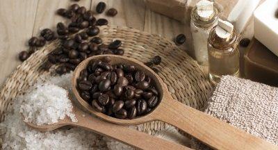 Luxusní kávová masáž
