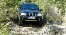 Extrémní jízda v Jeepu