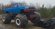 Jízda v Monster Trucku