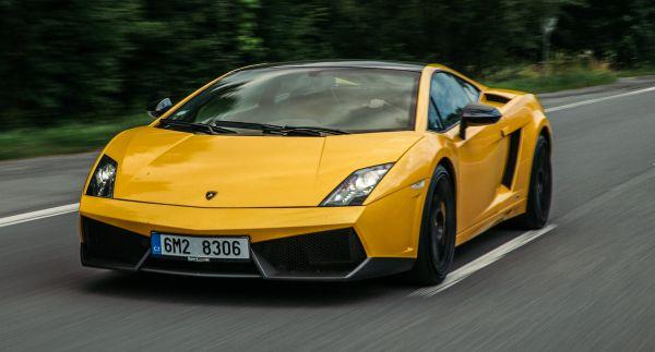 Jízda v Lamborghini Gallardo Brno
