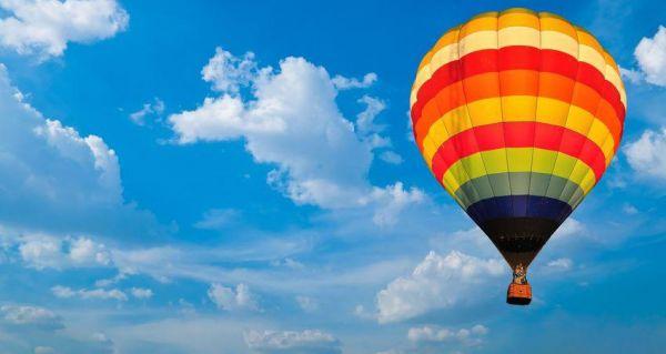 Soukromý let balónem pro rodinu