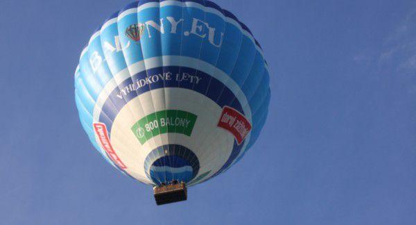 Let balónem Roudnice nad Labem - hora Říp